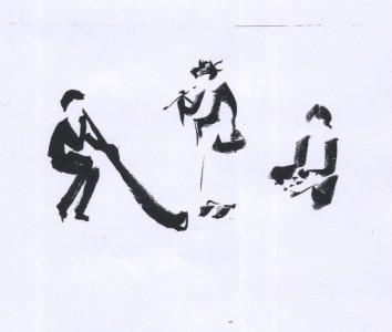 konzert lalligrafie von wulf essen  10. nov. 2013