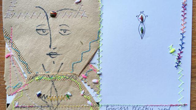 ab 1. Sept. 2020 Die Kunst kommt mit der Post, Ausstellung Mira Ferizovic & Klara Li FZ Kempten