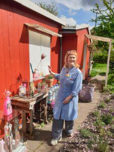 Artspring Open Air Klara Li Vasen am Schwedenh